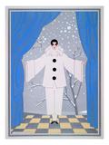 "Fasching Costume ""Pierrot"" for Women"