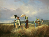 Der Sonntagsspaziergang (The Sunday Walk)  1841