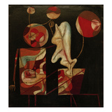 Marionetten (Bunt auf Schwarz) (Marionettes (Colour on Black))  1930