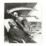 Le Cauchemar De Bismarck: La Mort: 'Merci'  Bismarck's Nightmare  1870