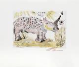 Rhinocéros Reproduction pour collectionneurs par Salvador Dalí
