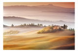 Sunrise in Val d&#39;Orcia