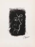 Profil de Femme from Souvenirs de Portraits d'Artistes Jacques PrŽvert: Le Coeur