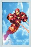 Iron Man: Iron Protocols 1 Cover: Iron Man Fighting