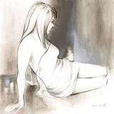 Sketched Waking Woman II
