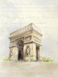 Well-Traveled Arc de Triomphe