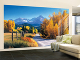 Autumn Landscape Huge Mural Art Print Poster Large