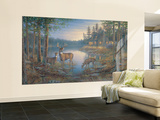 Quiet Places Huge Mural Art Print Poster Small