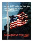 Remember December 7th World War Two