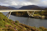 Kylesku Bridge  Kylesku  Assynt  Highlands  Scotland  United Kingdom  Europe
