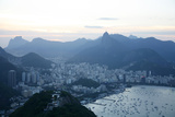 View over Rio de Janeiro Seen from the Top of the Sugar Loaf Mountain  Rio de Janeiro  Brazil