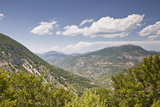 Looking Towards the Area of Montagne Du Buc in Rhone-Alpes  France  Europe