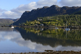 View of Loch Carron from Plockton Village  Highlands  Scotland  United Kingdom  Europe