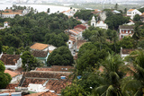 View over the Old Town of Olinda from Praca do Se  UNESCO Site  Olinda  Pernambuco  Brazil