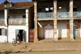 The Main Street  Ambalavao  Southern Part of the Central Highlands  Madagascar  Africa