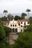View over Sao Francisco Monastery  UNESCO World Heritage Site  Olinda  Pernambuco  Brazil