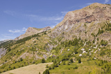 The Southern Alps in Parc Nat'l Du Mercantour Near Allos  Alpes-De-Haute-Provence  Provence  France