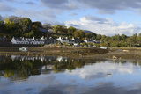 Plockton Village at Low Tide  Highlands  Scotland  United Kingdom  Europe
