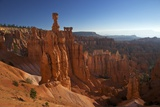 Thor's Hammer in Early Morning from Sunset Point  Bryce Canyon National Park  Utah  USA