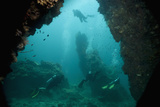 Cave Diving  Southern Thailand  Andaman Sea  Indian Ocean  Southeast Asia  Asia