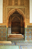 Saadian Tombs, Medina, Marrakesh, Morocco, North Africa, Africa Reproduction d'art par Jochen Schlenker