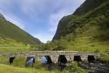 Old Bridge  Ytredalen  Sogn Og Fjordane  Norway  Scandinavia  Europe