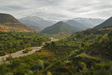 Imlil Valley and Toubkal Mountains  High Atlas  Morocco  North Africa  Africa