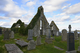 Ruins of 17th Century Balnakeil Church  Durness  Highlands  Scotland  United Kingdom  Europe