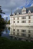 The Chateau  Azay Le Rideau  UNESCO Site  Indre-Et-Loire  Touraine  Loire Valley  France