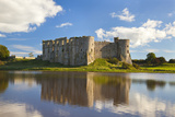 Carew Castle  Pembrokeshire  Wales  United Kingdom  Europe