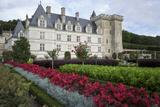 Chateau de Villandry  UNESCO World Heritage Site  Indre-Et-Loire  Loire Valley  France  Europe
