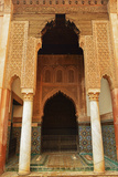 Saadian Tombs  Medina  Marrakesh  Morocco  North Africa  Africa