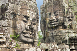 The Bayon  Angkor Thom  Angkor  UNESCO World Heritage Site  Siem Reap  Cambodia  Indochina