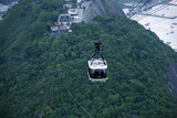 Cable Cars at the Pao de Acucar (Sugar Loaf Mountain)  Rio de Janeiro  Brazil  South America