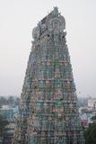 Tower of Kumbakonam Temple  Kumbakonam  Tamil Nadu  India  Asia