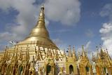 The Shwedagon Pagoda  Yangon (Rangoon)  Yangon Region  Republic of the Union of Myanmar (Burma)