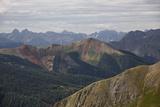 San Juan Mountains from Black Bear Pass Road  San Juan National Forest  Colorado  USA