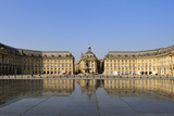 Le Miroir d'Eau (Mirror of Water)  Place de la Bourse  Bordeaux  UNESCO Site  Gironde  France