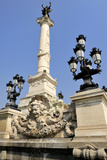 Monument Aux Girondins  Bordeaux  UNESCO World Heritage Site  Gironde  Aquitaine  France  Europe