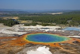 Grand Prismatic Spring  Midway Geyser Basin  Yellowstone Nat'l Park  UNESCO Site  Wyoming  USA