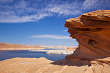 Red Rock Formations  Lake Powell  Page  Arizona  United States of America  North America