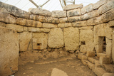 Prehistoric Temple of Mnajdra  UNESCO World Heritage Site  Malta  Europe