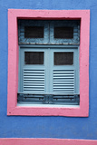 Detail of an Old Colonial House  Olinda  Pernambuco  Brazil  South America