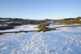 Fleet Valley National Scenic Area in Winter Snow  Dumfries and Galloway  Scotland  United Kingdom
