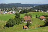 View of Furtwangen  Black Forest  Baden-Wurttemberg  Germany  Europe