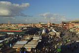 Jemaa El Fna  Medina  Marrakesh  Morocco  North Africa  Africa