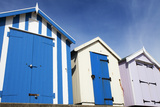 Beach Huts at Felixstowe  Suffolk  England  United Kingdom  Europe