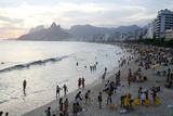 Ipanema Beach  Rio de Janeiro  Brazil  South America