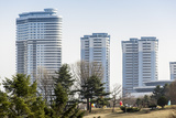 Modern Apartment Buildings  City Centre  Pyongyang  Democratic People's Republic of Korea  N Korea