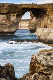 Famous Sea Arch  the Azure Window  Gozo  Malta  Mediterranean  Europe